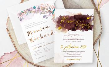 Invitații nuntă folio