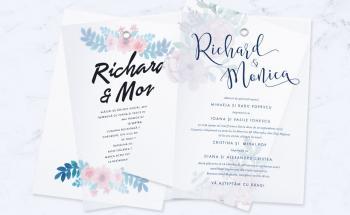 Invitații nuntă premium