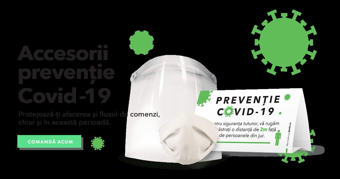 Accesorii prevenție COVID-19