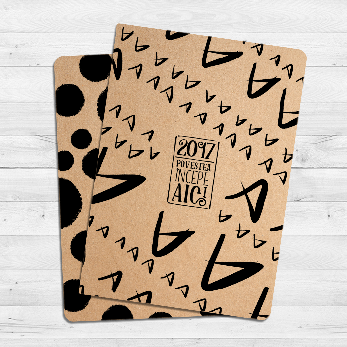 notebook kraft